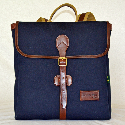 Original Peter Rucksack (Navy), front view