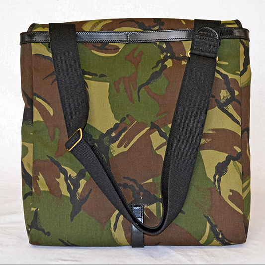 Original Peter Utrecht LP Record Hunting Bag (Camouflage), back view