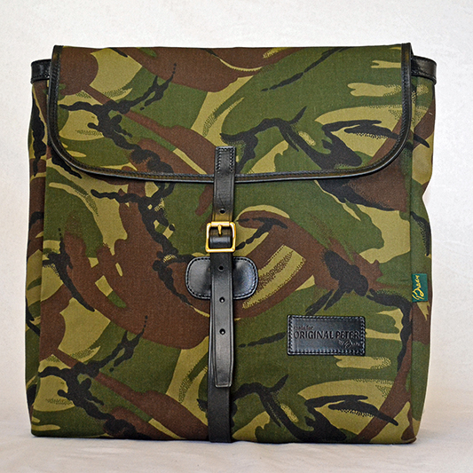 Original Peter Utrecht LP Record Hunting Bag (Camouflage), front view
